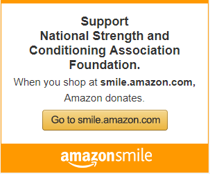 Support National Strength and Conditioning Association Foundation