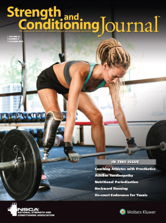 Strength and Conditioning Journal Volume 40 Issue 6