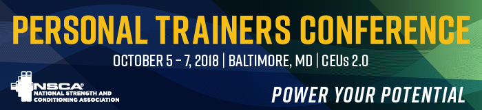 Pearsonal Trainers Conference Banner